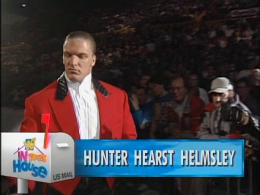 WWF / WWE - In Your House 4 - Hunter Hearst Helmsley faced Fatu in the opening match