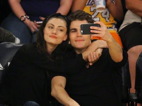 The Vampire Diaries: Paul Wesley (Stefan) y Phoebe Tonkin, Domingo Romántico, 15 de marzo