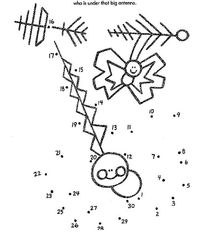 COLOREA TUS DIBUJOS: Dibujar mariposa uniendo puntos para colorear y ...
