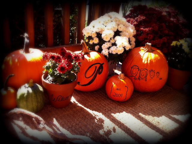 http://stayfitmom4life.blogspot.com, pumpkin decorating