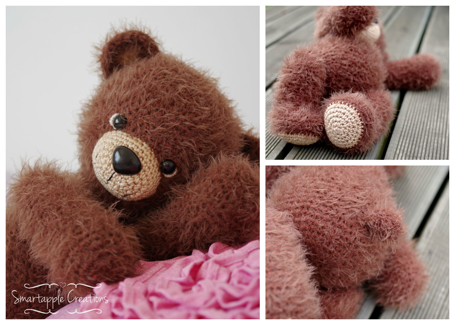 Smartapple Creations - amigurumi and crochet: Cuddly teddy ...