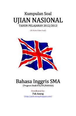 Kumpulan Soal Un Bahasa Inggris Sma 2013 (43 Paket Soal)