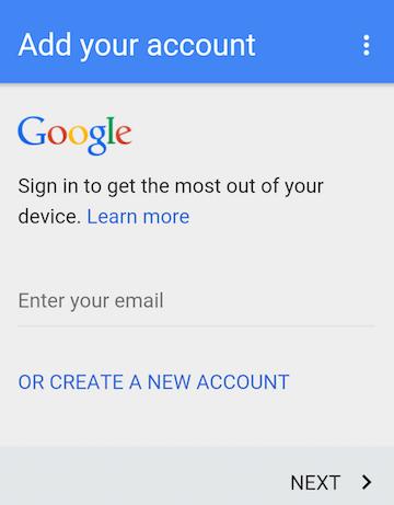 main google account