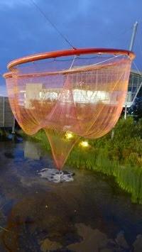 Water Sky Garden, Janet Echelman