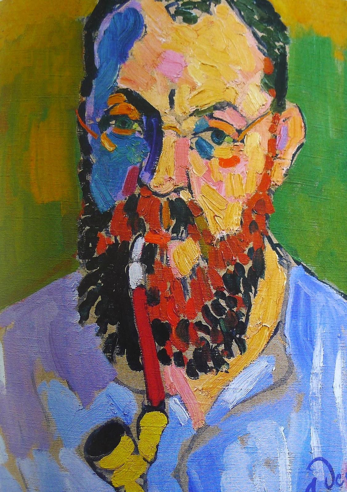 Portrait Henri Matisse par André Derain