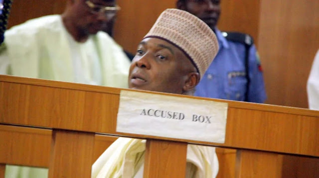 CCT rule that saraki trial must continue on Nov 19
