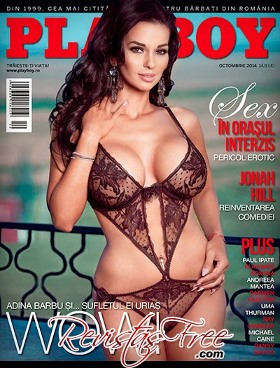 Playboy Romania - Adina Barbu - Outubro 2014
