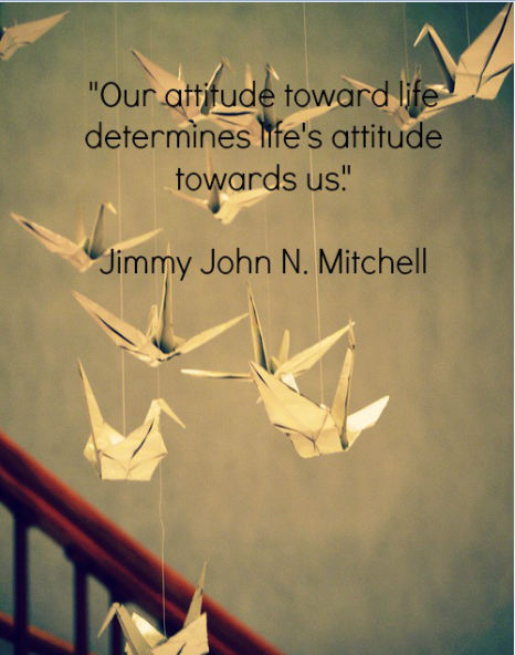 Our attitude