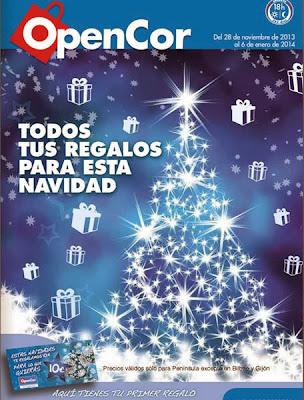 opencor regalos navidad 2013