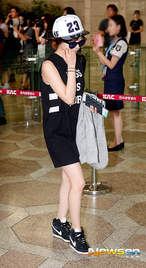 snsd sunny airport pic