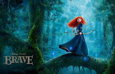 Oscar 2013 Best Animated Feature Film Brave (2012)