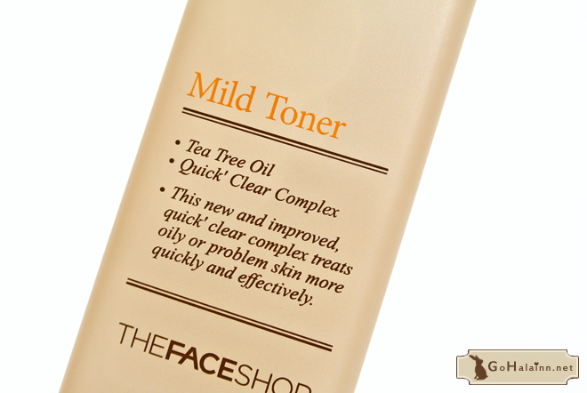 The Face Shop Clean Face Mild Toner Review