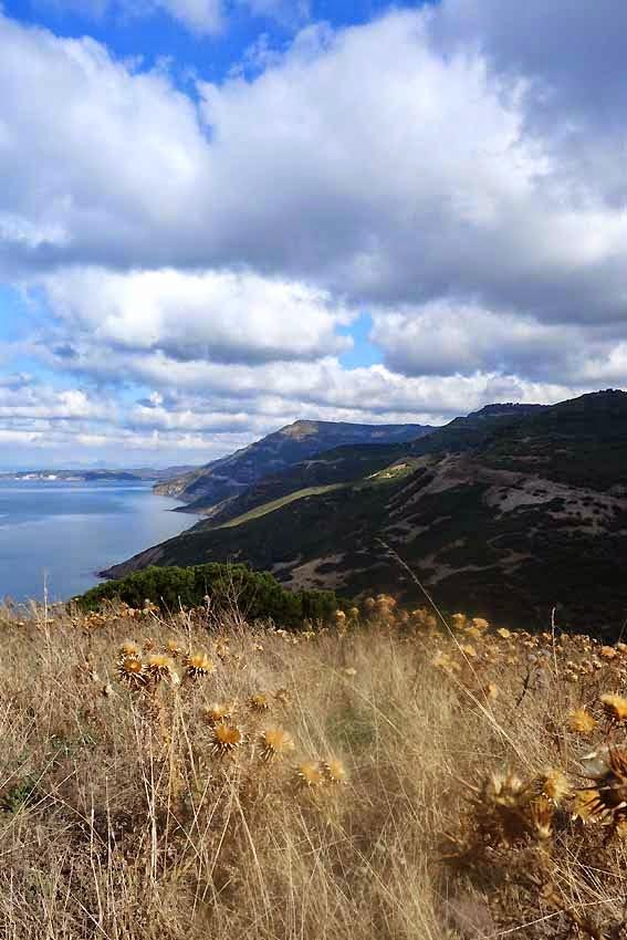 Côte Nord ouest de la Sardaigne