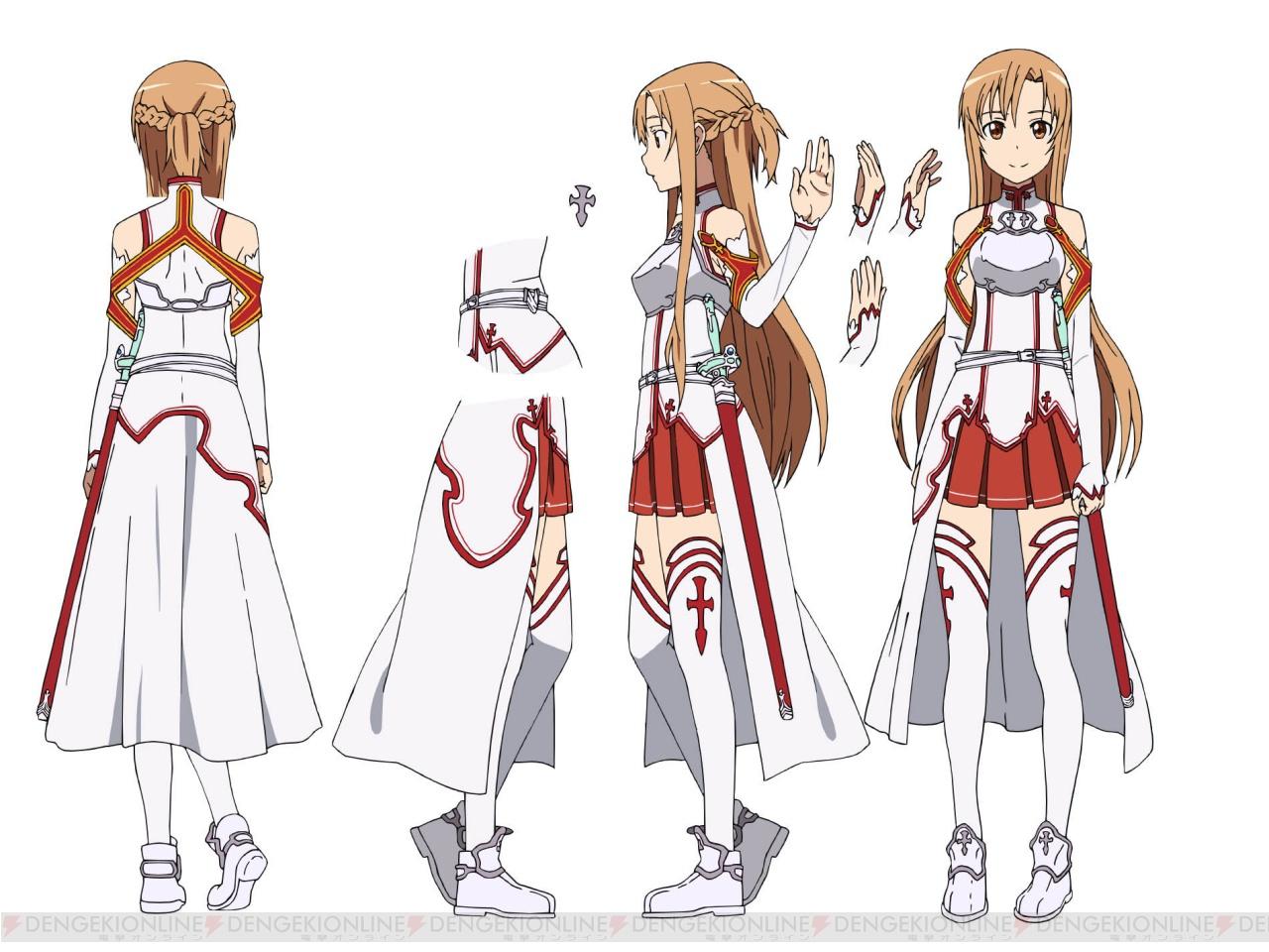 SugarBurger Cosplay: Traje de Asuna