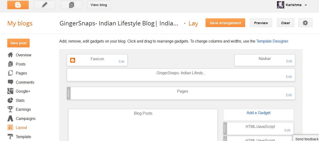 How to remove the blogger navigation bar in blogger