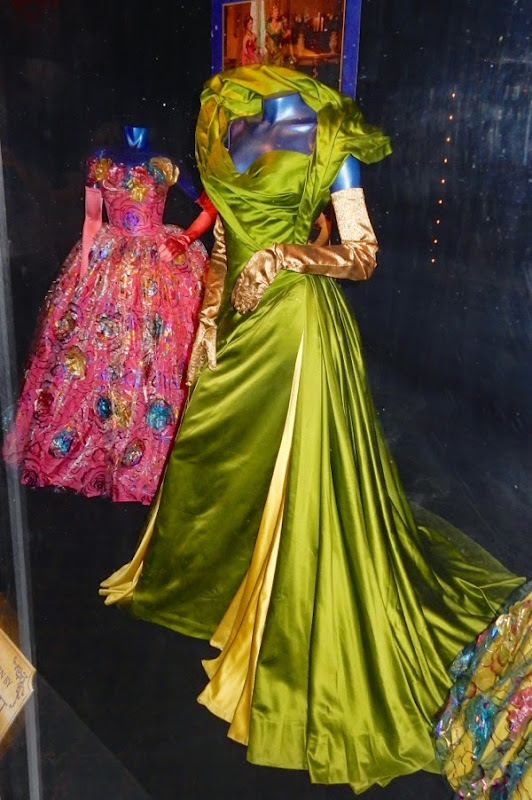 Cinderella Stepmother green ball gown