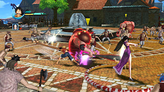 One Piece Pirate Warriors Gamescom Gameplay Screenshots Luffy Boa Hancock