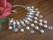Beaded Bridal Pearl Necklace