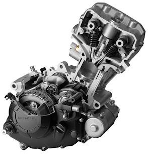 Honda RS150 engine