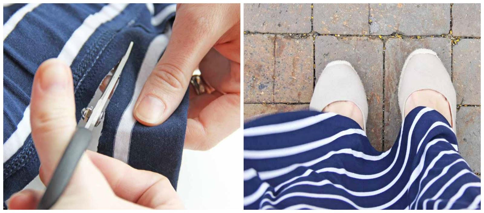How to Shorten a Maxi Skirt