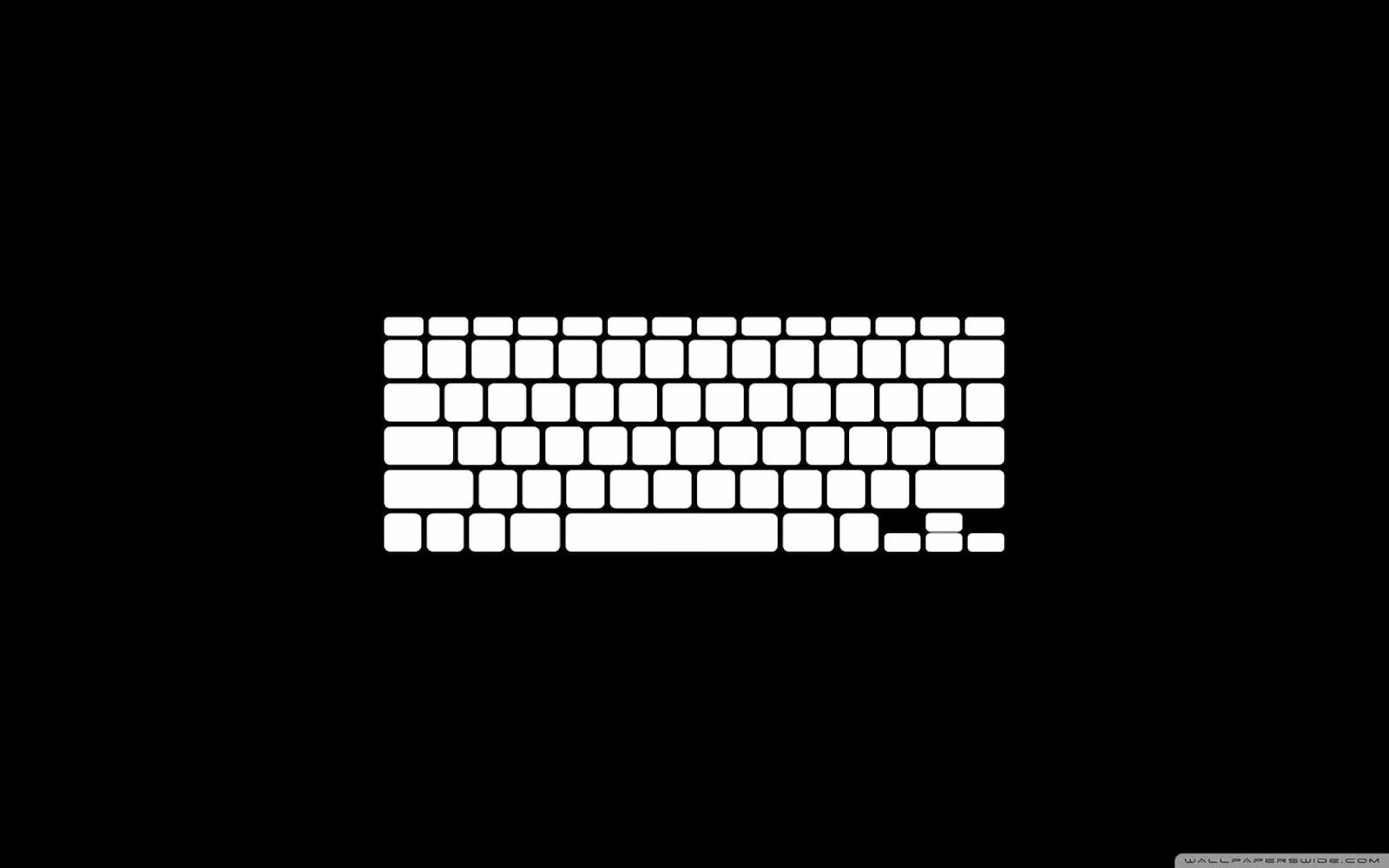 computer keyboard wallpaper