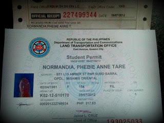 Student Permit (Driver's License)