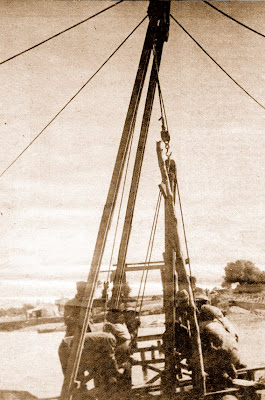 Pivotaje para el acueducto provisional (1917)