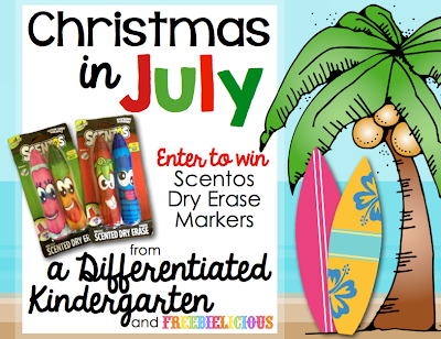 Freebielicious Christmas in July MEGA Giveaway