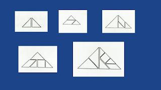armar triángulos