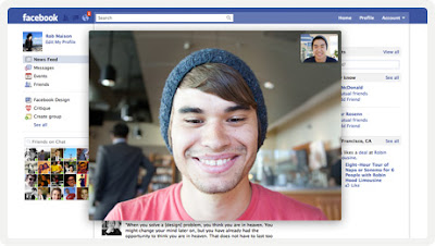 video chat Facebook Skype