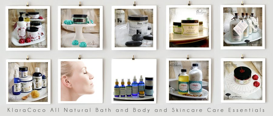 KlaraCoco All Natural Bath and Body Care for the Whole Family