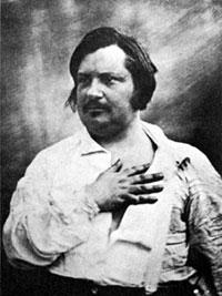 Daguerrotipo de Honoré de Balzac