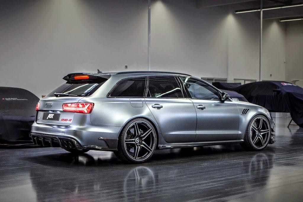 730hp Audi Rs6 R Avant By Abt