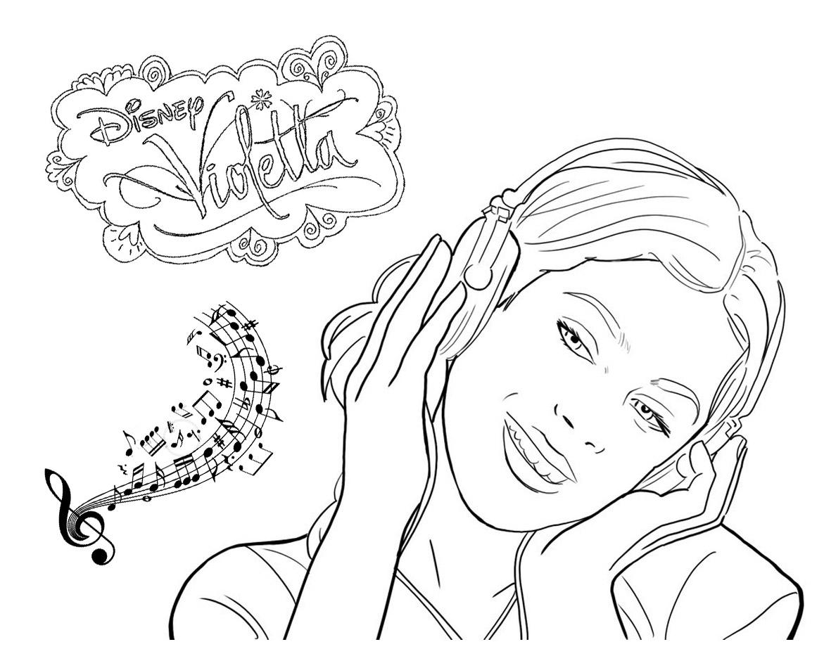 Desenhos para colorir e imprimir desenhos para colorir da violetta imagens para imprimir - Dessin a imprimer violetta ...