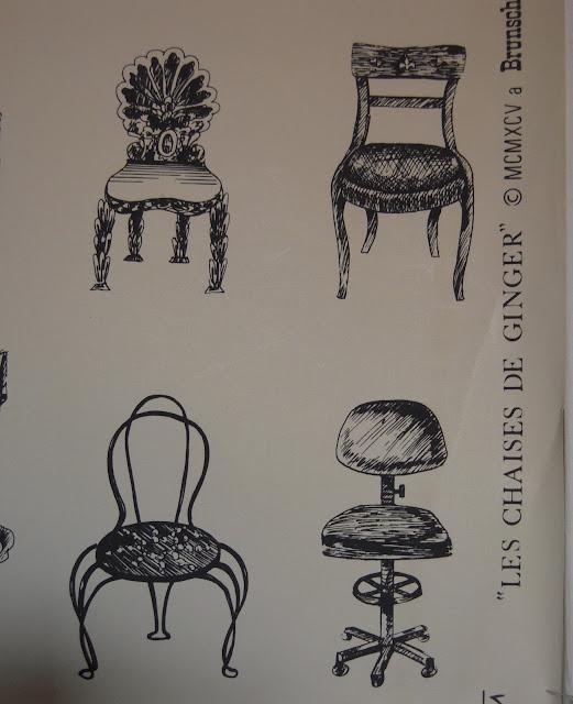 Light color design les chaises de ginger for Chaise design coloree