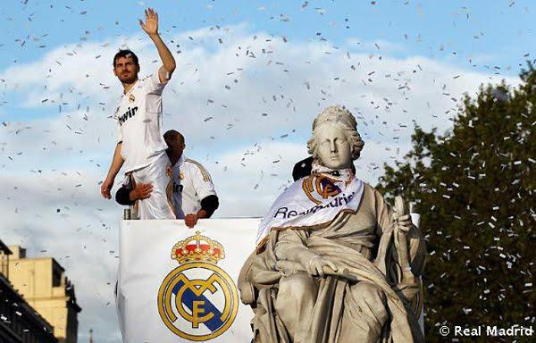 celebración Real Madrid Cibeles