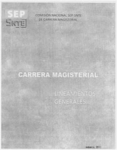 NUEVOS LINEAMIENTOS DE CARRERA MAGISTERIAL