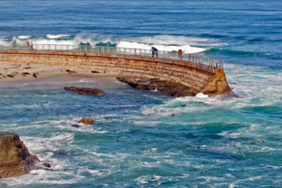 The best travelling the great of la jolla beach california for Pretty beaches in california
