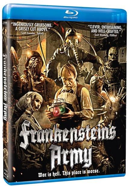 O Exército de Frankenstein Torrent