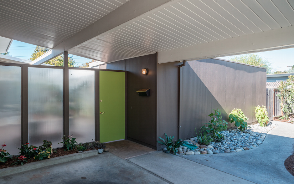 Front door color ideas for eichler and mid century modern for Eichler paint colors