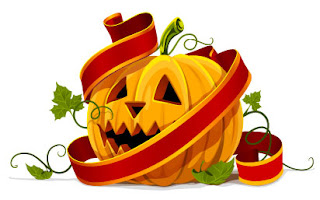 Decorar con calabaza de halloween
