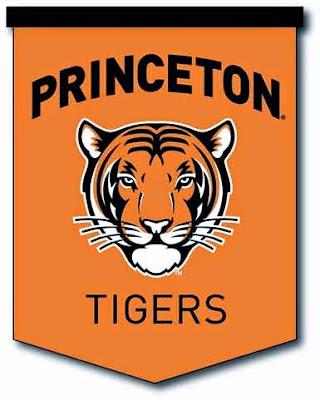 A Princeton Tiger banner
