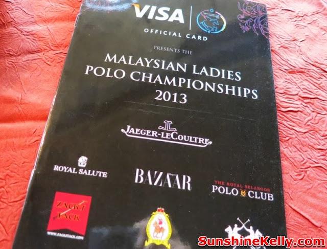 Malaysian Ladies Polo Championship 2013, invitation shop