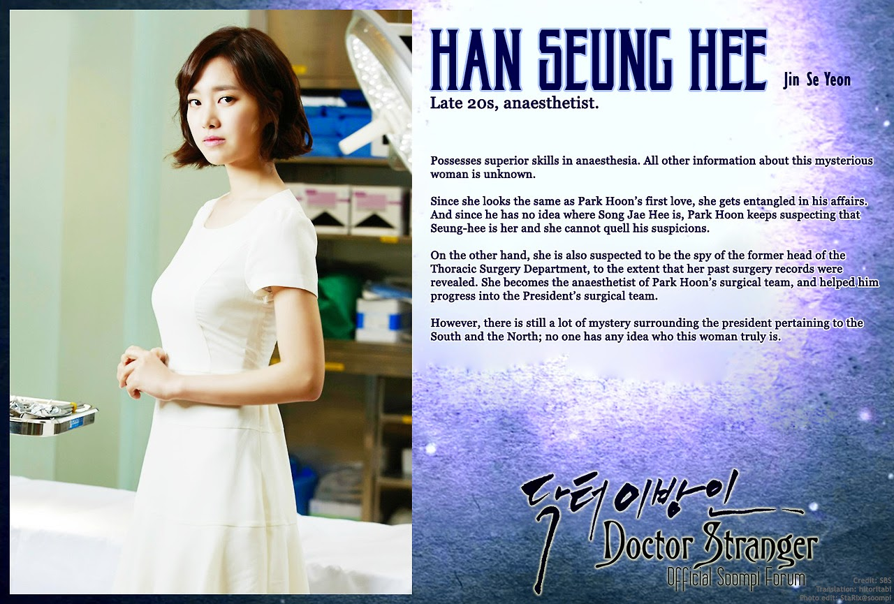 Jin Se-Yeon sebagai Song Jae-Hee