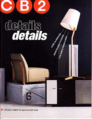 March CB2 catalog