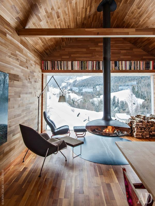 decoracao-cabana-neve-chalet-lareira