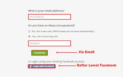 Alexa Rank Dan Cara Daftarnya