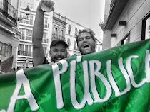 A la calle!!! Por la pública!!!