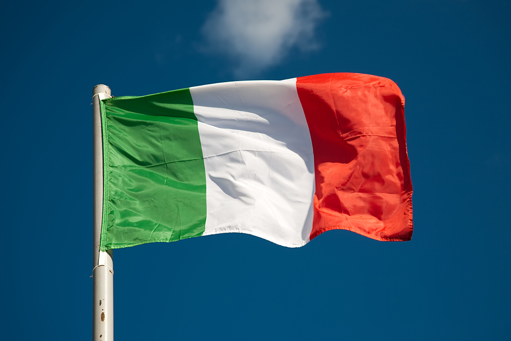 The Italian Flag  National Flags  Collins Flags Blog