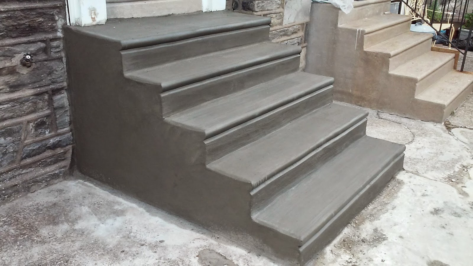 Pouring Concrete Steps With Bullnose Look   WoodworkersZone   Woodworking  Forums